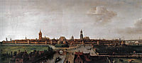View of Delft from the Southwest, 1615, vroom
