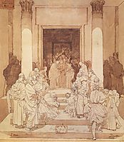 Betrothal of Mary and Joseph, 1881, vrubel