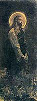Christ in Gethsemane, 1888, vrubel