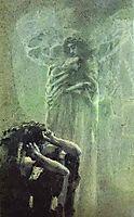 Demon and Angel with Tamara-s Soul, 1891, vrubel