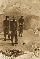 Duel of Pechorin and Grushnitsky, 1891, vrubel