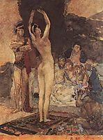 Eastern dance, 1887, vrubel