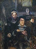 Hamlet and Ophelia, 1884, vrubel