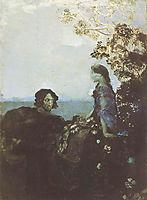 Hamlet and Ophelia, 1888, vrubel