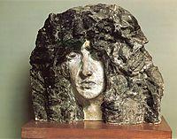 Head of Demon, 1890, vrubel