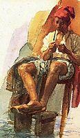 Italian fisherman, c.1885, vrubel