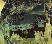 Italian Night in Naples (Sketch for the curtain in Russian Private Opera), 1891, vrubel