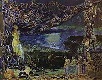Italian Night (Sketch for the curtain in Russian Private Opera), 1891, vrubel