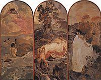 The Judgement of Paris, 1893, vrubel