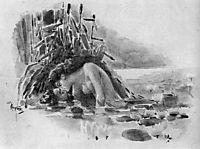 Mermaid, c.1891, vrubel