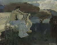 Muse, 1890, vrubel