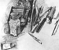 Pencils, 1905, vrubel