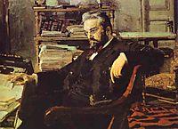 Portrait of a Businessman K. Artsybushev, c.1896, vrubel