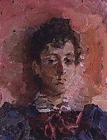 Portrait of M. V. Yakunchikova, c.1887, vrubel