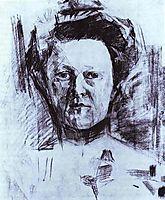 Portrait of Valentina Usoltseva, wife of the Doctor Usoltsev, 1905, vrubel