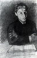 Self Portrait, 1880, vrubel