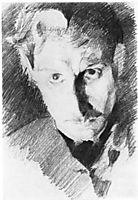 Self Portrait, 1885, vrubel