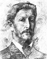 Self Portrait, 1904, vrubel