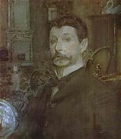 Self Portrait, 1905, vrubel