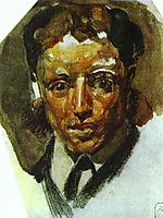 Self Portrait, c.1885, vrubel