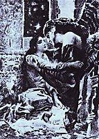 Tamara and Demon, 1891, vrubel