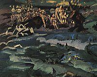 Thirty-three knights, 1901, vrubel