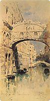 Venice. Bridge of Sighs, 1894, vrubel