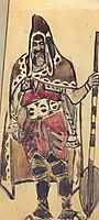 Viking Merchant (Costume design for the opera , 1897, vrubel