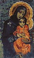 Virgin and Child, c.1884, vrubel