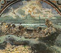 Walking on Water, 1891, vrubel