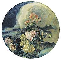 Yellow roses, 1894, vrubel