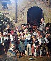 After school, 1841, waldmuller