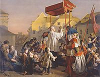 Blessing , 1859, waldmuller