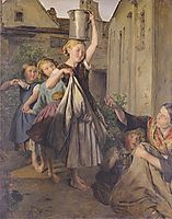 Charity , 1863, waldmuller