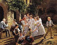 Corpus Christi Morning, 1857, waldmuller