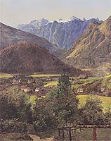 The Dachstein , 1835, waldmuller