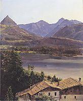 Der Wolfgangsee , 1835, waldmuller