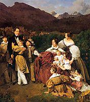 The Eltz Family , 1835, waldmuller
