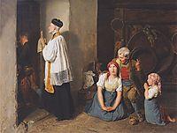 Extreme Unction , 1846, waldmuller