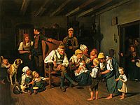 Grandfathers Birthday , 1849, waldmuller