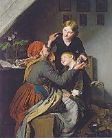 Grandma-s Birthday , 1856, waldmuller