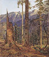 The Höllengebirge at Ischl , 1834, waldmuller