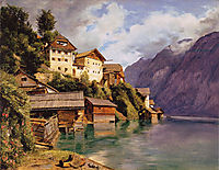 Hallstatt, 1839, waldmuller