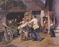 Homecoming into the fathers house , 1855, waldmuller