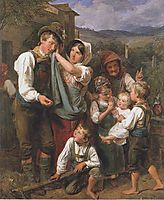 The homecomming , 1833, waldmuller