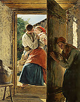 Love Surprise , 1858, waldmuller