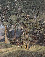 Maple trees near Ischl , 1831, waldmuller