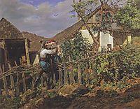 The neighbors , 1859, waldmuller