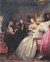 Poor wishers , 1861, waldmuller
