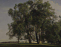 Prater Landscape , 1830, waldmuller